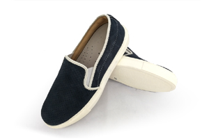 Slipino - Blue Boat Shoes (Woman)