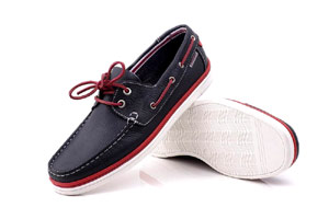Grado -Soft navy Boat Shoe (Man)