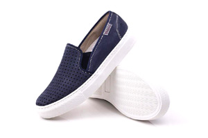 Slipino - NL Blue Boat Shoes (Woman)