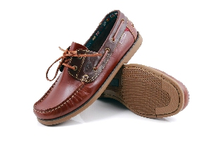 Bonifacio2 - Cognac/Brown Boat Shoe (Man)