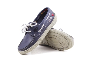 Cagliari - Paris Blue Boat Shoes (Woman)